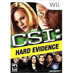Amazon - UBI Soft CSI Hard Evidence for Wii - $19.98