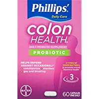 Phillips' Colon Health Daily Probiotic Supplement (60 Count)