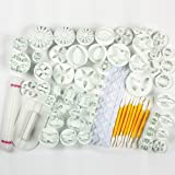 21 Sets (68pcs)Cake Decration Tool Set By Catalina Fondant Cake Cutter Mold Sugarcraft Icing Decorating Flower Modelling Tools