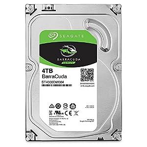 Seagate 内蔵ハードディスク 3.5インチ 4TB PCユーザー向け BarraCuda ( SATA 6Gb/s / 5400rpm / 2年保証 ) 正規代理店品 ST4000DM004