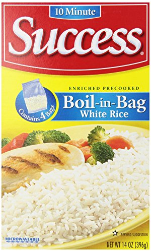 Success Boil-In-Bag White 4 Ct Rice, 14 Ounce (Boil In The Bag Rice compare prices)