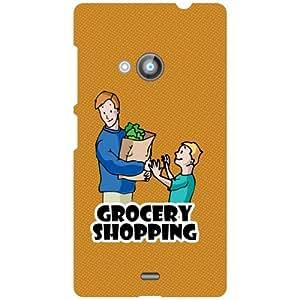Nokia Lumia 535 Printed Mobile Back Cover
