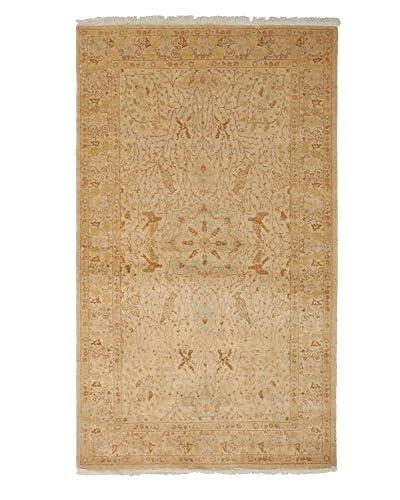Darya Rugs Mogul Oriental Rug, Beige, 3' 3 x 5' 5