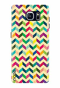 Noise Multicolor Zigzag Printed Cover for Samsung Galaxy S7