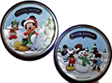 Royal Dansk Butter & Chocolate Chip Cookies - Disney 2013 Ltd Edition - Two 9 Ounce Tins
