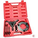 Neiko® 20720A Automotive Harmonic Balancer Puller Tool Set   Includes 3-Jaw Puller and Holding Tools