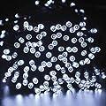 1 Pcs Inspiring Modern 200x LED Solar Power Nightlight Christmas Light Yard Bright Garden Lawn Colors White