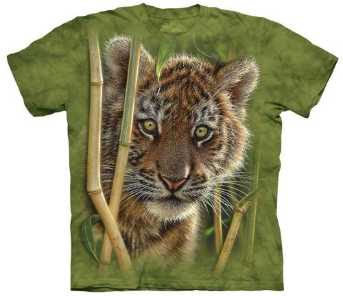 The Mountain Baby Tiger Adult Tee M front-656378