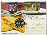 Reids of Caithness Maple and Pecan Oaties 150 g (Pack of 4)