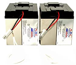 RBC11 Replacement Batterycartridge By American Battery Co Pack of 2 Batteries