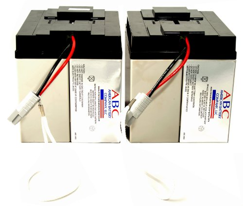 RBC11 Replacement Batterycartridge By American Battery Co Pack of 2 BatteriesB0000E6RI2