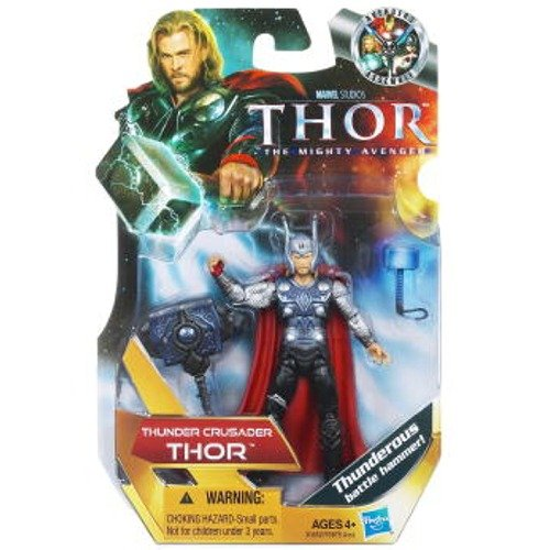 Thunder Crusader Thor Figur MARVEL 30652 Hasbro voll beweglich günstig