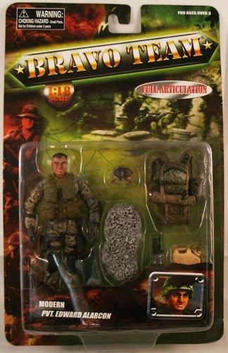 Buy Low Price Unimax Bravo Team Modern Series U.S. Army Pvt. Edward Alarcon Action Figure (B00551AEM8)