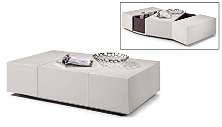 Modrest P592A - Modern White Coffee Table