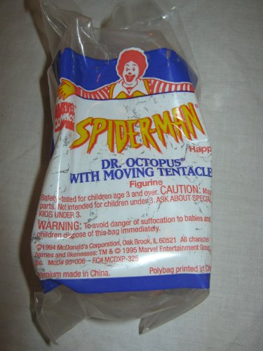 1994 Mcdonalds Happy Meal Toy Marvel Comics Spider Man #3 Dr. Octopus - 1