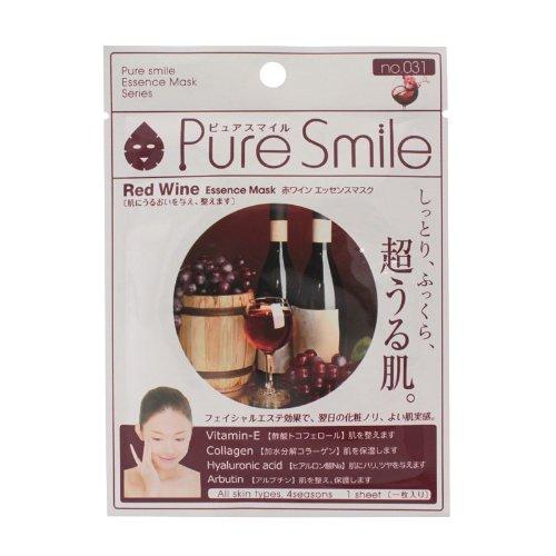 ピュアスマイルエッセンスマスクシリーズ 赤ワイン100枚セット