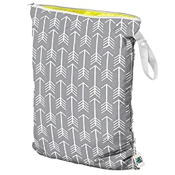 Planet Wise Wet Diaper Tote Bag, Aim Twill, Large