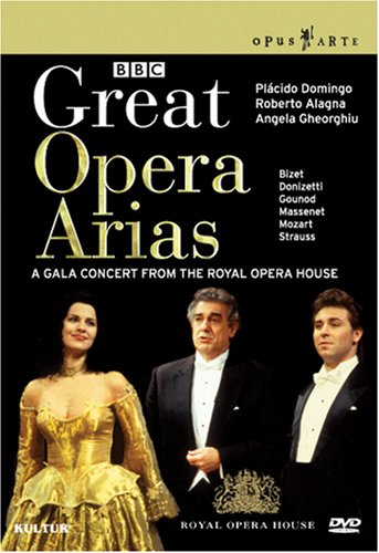 Great Operas Arias [DVD] [2008] [Region 1] [US Import] [NTSC]