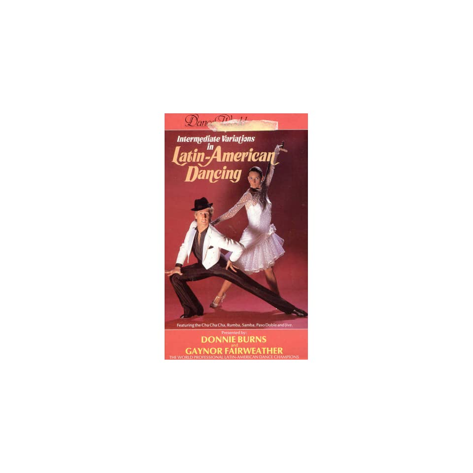 Intermediate Variations in Latin American Dancing Donnie Burns, Gaynor Fairweather Movies & TV