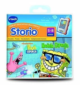 Spanish - Vtech Storio Juego Sponge Bob - En Español: Toys & Games