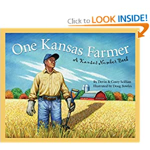 One Kansas Farmer: A Kansas Number Book (Count Your Way Across the USA) (Discover America State by State)