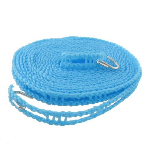 uxcell® Nylon Clothes Rope Line Clothesline 5M 16.4ft Blue
