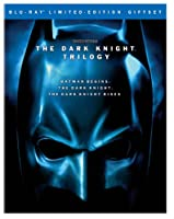 The Dark Knight Trilogy Batman Begins The Dark Knight The Dark Knight Rises Blu-ray by Warner Bros. Home Entertainment