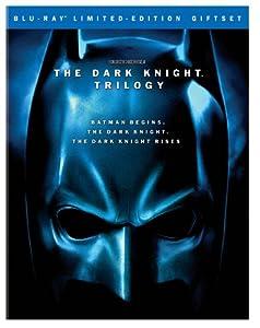 The Dark Knight Trilogy Batman Begins The Dark Knight The Dark Knight Rises Blu-ray by Warner Bros. Home Entertainment