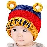 Happy Cherry - Gorra Gorro Protector Sombrero Caliente Infantil de Invierno para recien nacidos Beb�s ni�os ni�as - amarillo 6-36 meses
