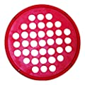 "CanDo 10-0882 Hand Exercise Web, Latex Free, 7"" Diameter, Red-Light"