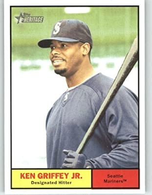 2010 Topps Heritage Baseball Card # 430 Ken Griffey Jr. (Short Print) Seattle Mariners - MLB Trading Card