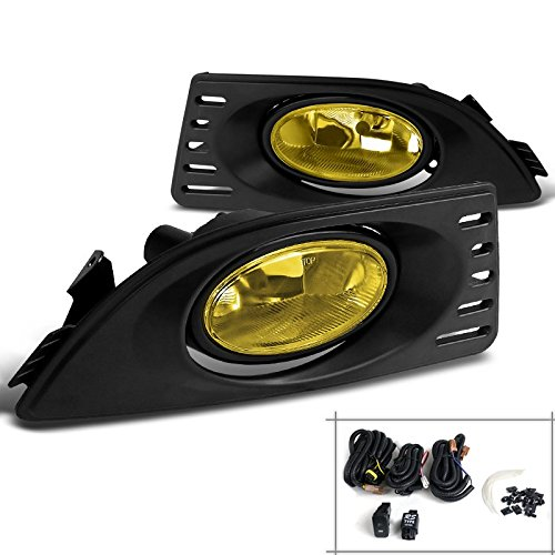 Spec-D Tuning LF-RSX06AMOEM-RS Acura Rsx Base Type-S Oem Style Amber Bumper Fog Lights (Rsx Type S Front Bumper compare prices)