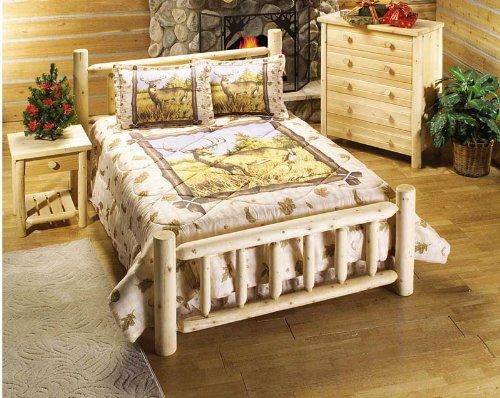 Buy Sell Queen Cedar Log Bed American Furniture Discount Coupons