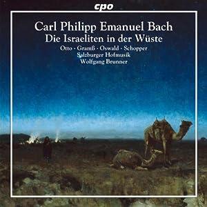 Bach: Die Israeliten In Der Wueste (CPO: 777560-2)