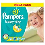 Pampers Baby Dry Lot de 5 paquets de...
