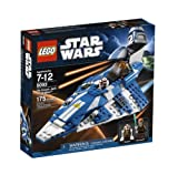 51qgRLUBhfL. SL160  LEGO Star Wars Plo Koons Jedi Starfighter (8093)