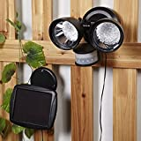 36 Led Solar Powered Rechargeable Pir Motion Sensor Security Light