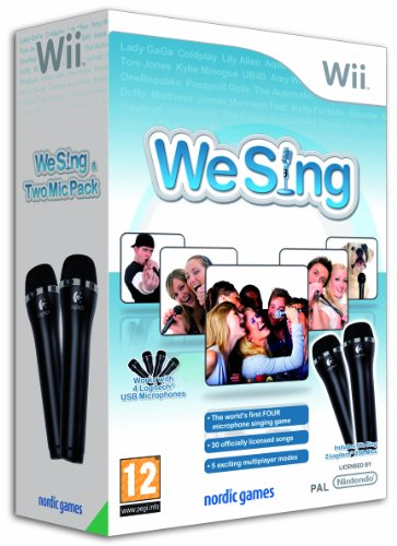 We Sing Bundle - Incl 2 Logitech Mics (Wii)