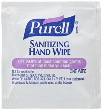 PURELL Sanitizing Hand Wipes, Individually Wrapped