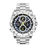 "Bulova Mens 96B175 ""Precisionist"" Stainless Steel Watch"