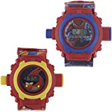 Shanti Enterprises Combo Of Angery Birds And Spider Man 24 Images Projector Watch