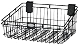 Suncast MB1218B Wire Basket 12x18 Inch, Black