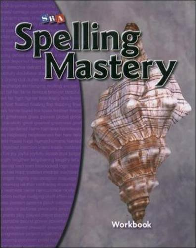 Spelling Mastery Workbook - Level D