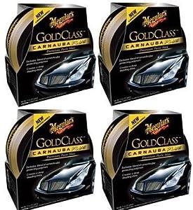 Meguiars G7014J Gold Class Carnauba Plus Paste Wax - 11 oz. (4 Pack) by Meguiar's