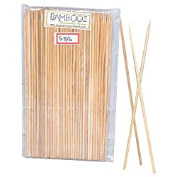 Bamboooz Bamboo Skewers 6 Inch(100 Nos.)
