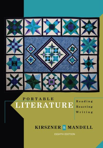 Portable Literature: Reading, Reacting, Writing (Kirszner Portable Literature compare prices)