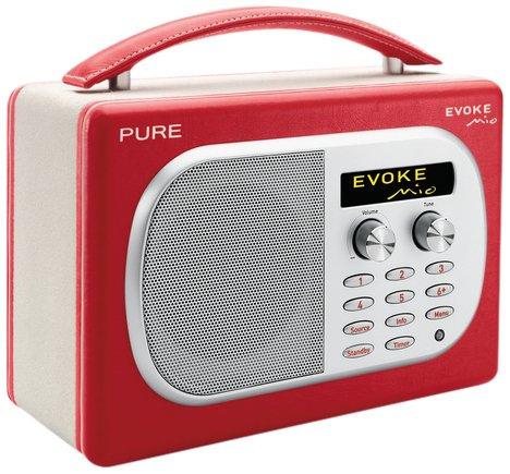 Radio PURE EVOKE Mio Chili rouge