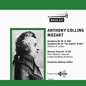 Anthony Collins - Mozart