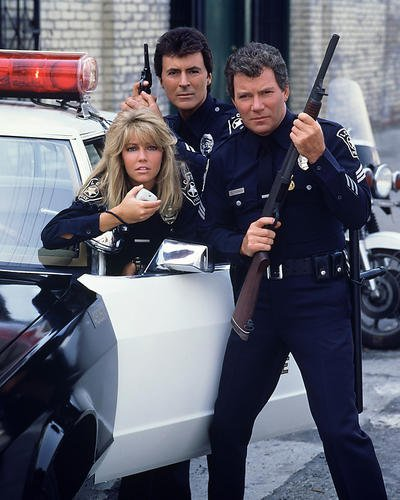 tj-hooker-featuring-heather-locklear-william-shatner-adrian-zmed-14-x-11-promozionali-fotografia-con