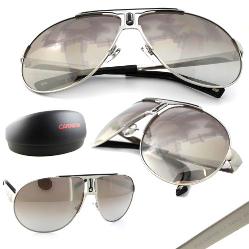 Carrera Carrera 010 Gold Panamerika 1 Aviator Sunglasses Lens Category 3